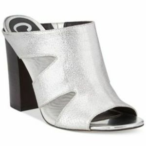Sam Edelman Metallic Slip On Heels